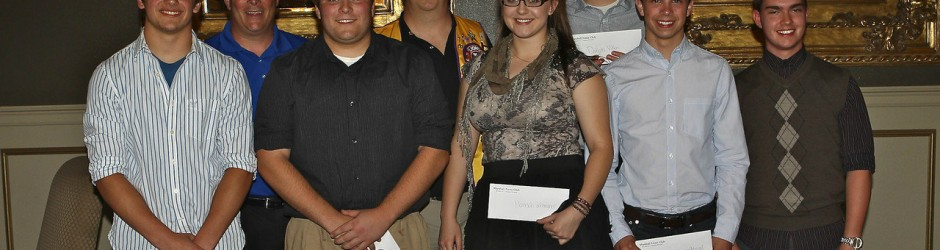 2012 Lions Scholarship Winners