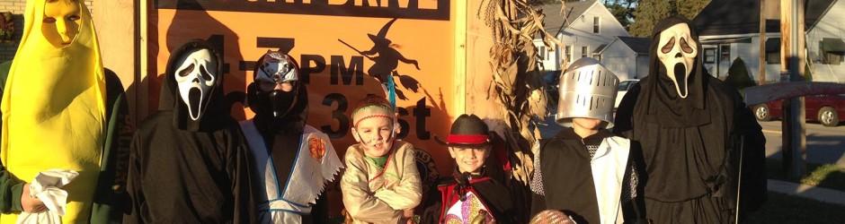 Halloween at Lions Park & Coat Drive