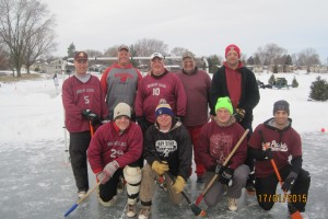 This years Broomball runner up, Herman's Liquor.